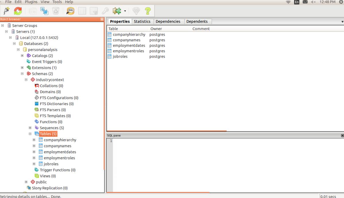 pgAdmin 3 accessing PostgreSQL